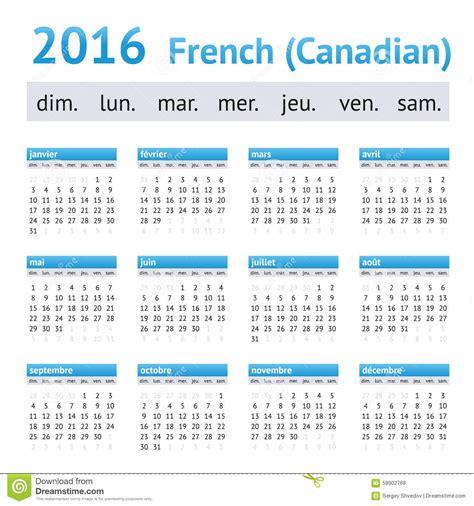Canadien Calendrier Calendrier 2016 Am 233 Ricain Fran 231 Ais D 233 Buts De Semaine