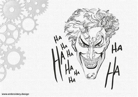 Hängematte Design by Laughing Joker Ha Ha Embroidery Design