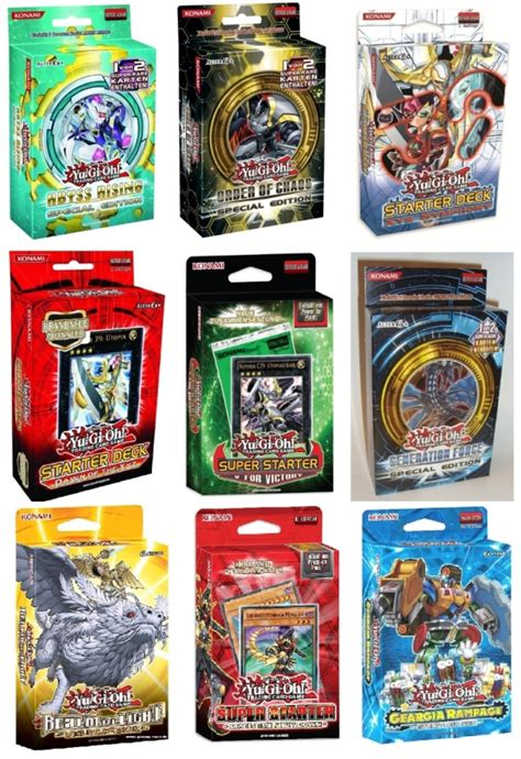 structure decks yu gi oh starter structure deck se special edition