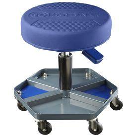 Garden Stool On Wheels Lowes by Kobalt Adjustable Shop Stool Garage Setup And Tools