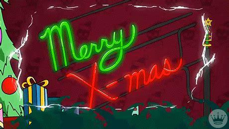 merry christmas animation gif  hallmark ecards find share  giphy