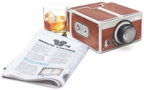 Proyektor Portable Smartphone proyektor smartphone portabel cardboard 2 0 brown jakartanotebook