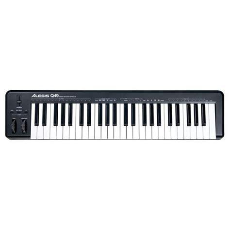Alesis Q49 Keyboard Bajaao Buy Alesis Q49 Usb Midi Keyboard Controller India Musical Instruments Shopping