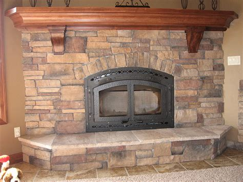 Cultured Stone Fireplace Pictures and Ideas