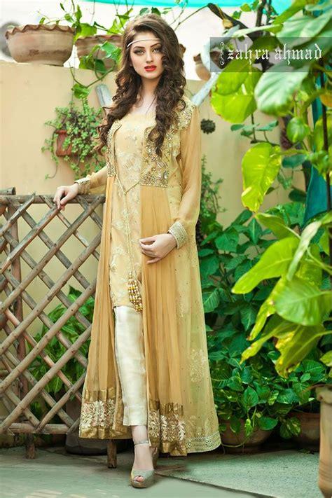 Latest Pakistani Party Wear Winter Dresses 2018   BestStylo.com