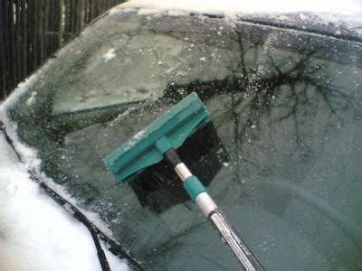 winter hack how to make windshield de icer