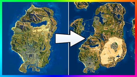 gta 6 world map is the gta 5 map small why 90 of the gta