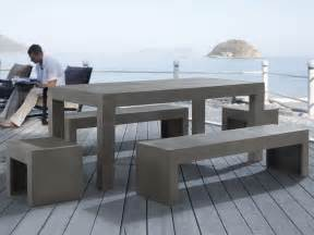Cement Patio Tables How To Make A Concrete Patio Table Ebay