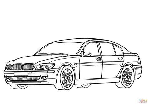 coloring pages real cars coloriage bmw s 233 rie 7 coloriages 224 imprimer gratuits