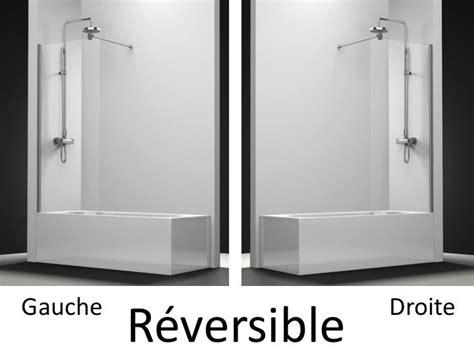 parois de largeur 50 pare baignoire panneau fixe