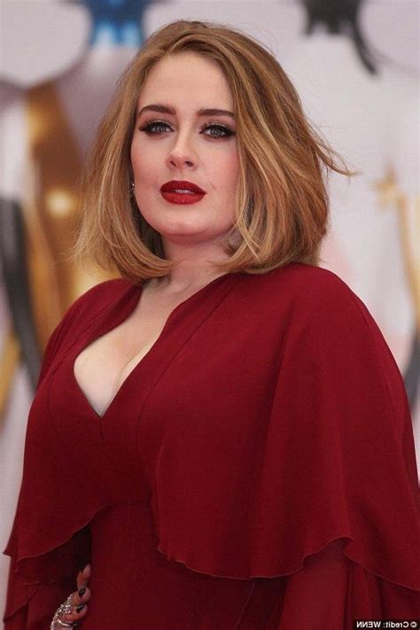 Adele Hairstyles by 15 Photo Of Adele Shoulder Length Bob Hairstyles