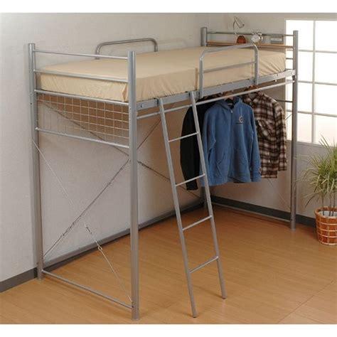 closet bed frame metal frame bunk bed with storage space bib 006 buy