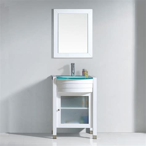 ava bathroom furniture ava 24 quot single vanity virtu usa