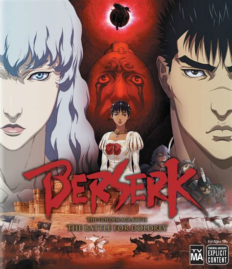 berserk golden age arc the golden age arc 2 the battle for doldrey the