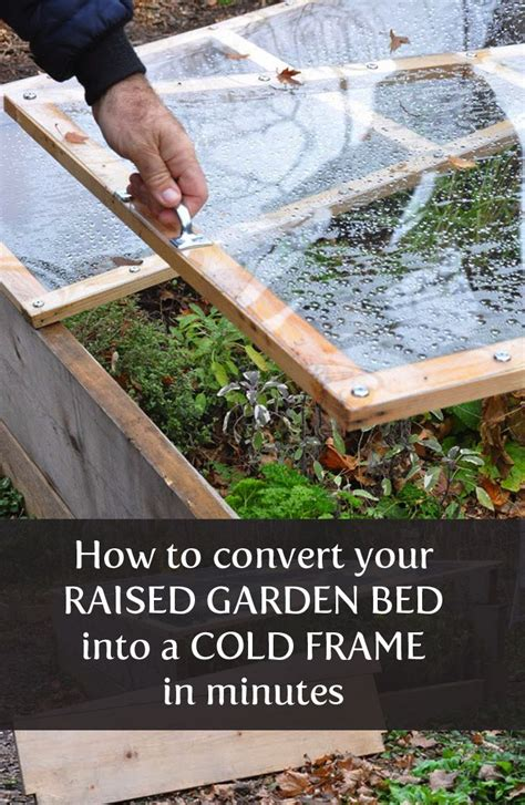 cold frames for raised beds from raised bed to cold frame in minutes