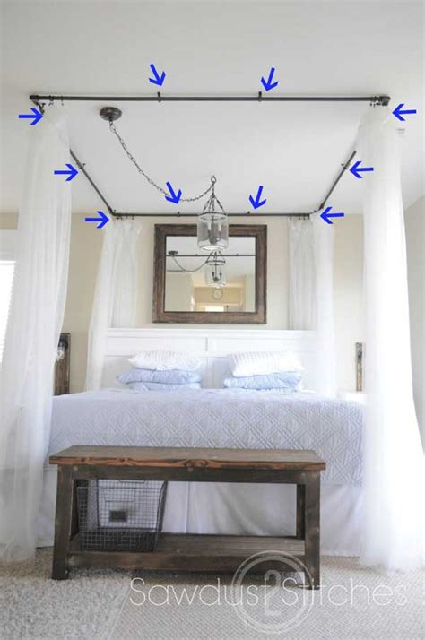 how to hang a canopy in a room 20 magical diy bed canopy ideas will make you sleep