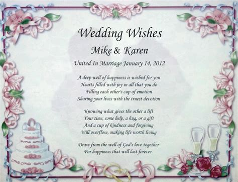 Wedding Wishes Poetry by Wedding Wishes Wedding Ideas