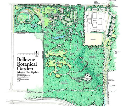 Bellevue Botanical Garden Trail Map Garden Ftempo Bellevue Botanical Garden Map
