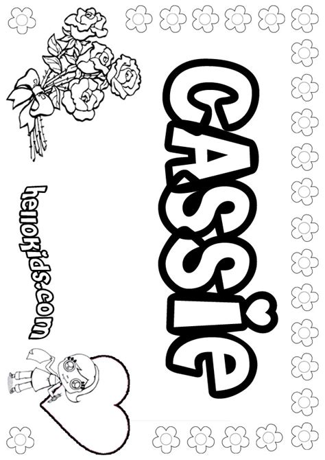 coloring pages for names coloring pages hellokids