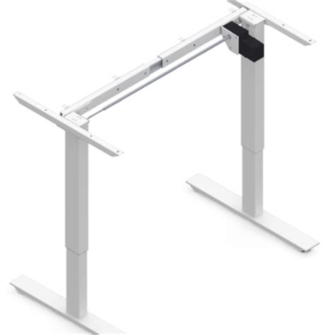 adjustable height desk frame electric height adjustable desk frames sold in canada