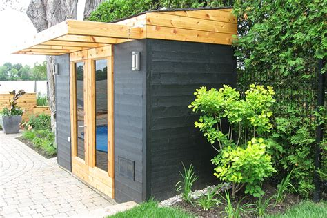 Shed Style by Cabanons Et Remises De Jardin Modernes Montreal Outdoor