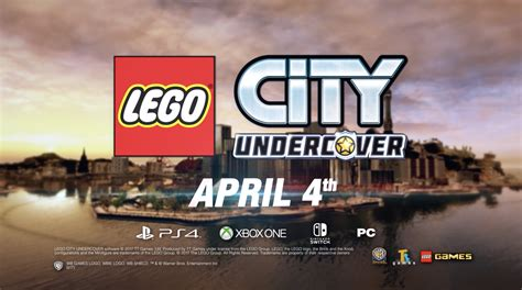Switch Lego City Undercover new lego city undercover trailer co op announced launching april 4 on nintendo switch