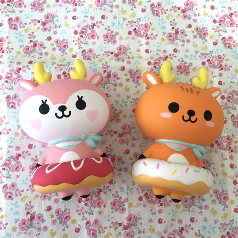 Mini Pink Popop Sheep By Patpatzoo deer in gelato donuts squishy squishy scented