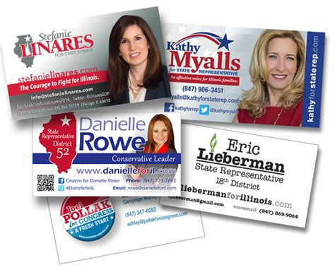 candidate business card template political caign business cards choice image business