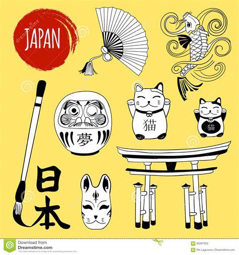 doodle japan carp illustrations vector stock images 3169
