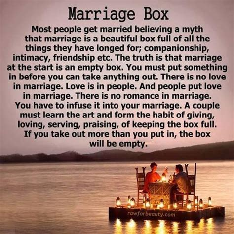 Wedding Box Poem by The Marriage Box A Poem By Fanniesson All Poetry