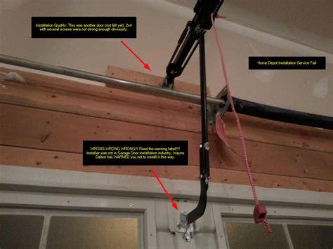 garage door opener installation service news home depot garage door opener installation on home