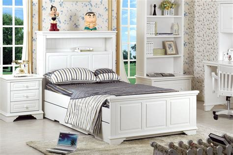 king single bed frame with storage b w solid wood furniture lava king single bed frame