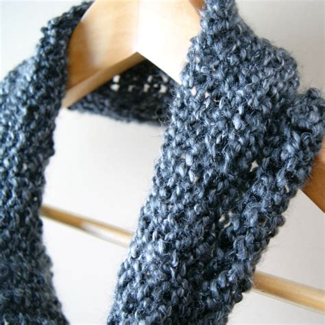 easy loom knitted scarf cowl simple beginner s loom knit tutorial