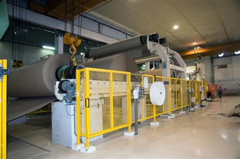 paper and pulp mill stock paper and pulp mill fourdrinier machine stock photos image 11874663