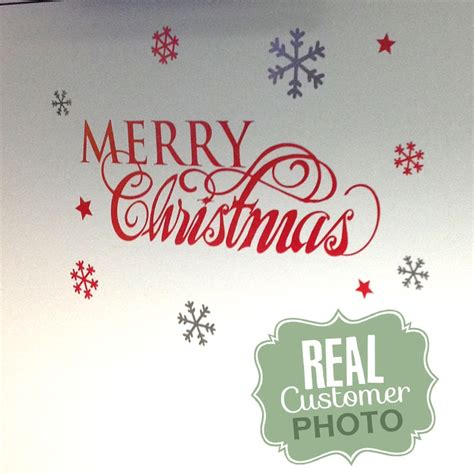 merry wall stickers merry christmas decal stickythings wall stickers south africa
