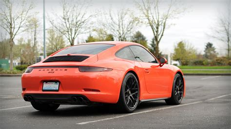 orange porsche gorgeous 2016 lava orange porsche gts cars for sale