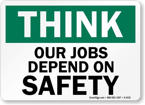 thinking of buying apartments 5 warning signs of a bad deal osha think our jobs depend on safety sign sku s 4132