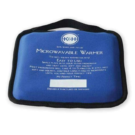 k h pet bed warmer k h pet products microwavable pet bed warmer blue 9 quot x 9