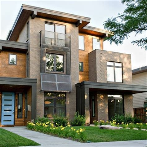 contemporary exterior duplexes design ideas pictures