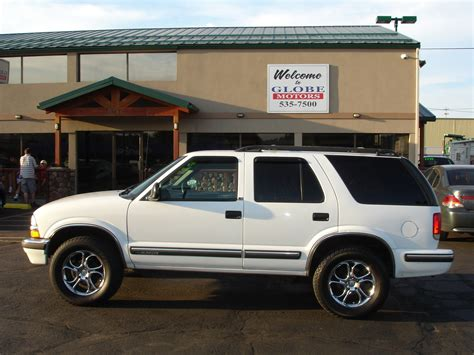 chevrolet trailblazer white chevrolet blazer white spokane mitula cars