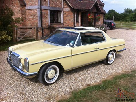 classic mercedes coupe mercedes w114 coupe 280ce 280se convertible pillarless