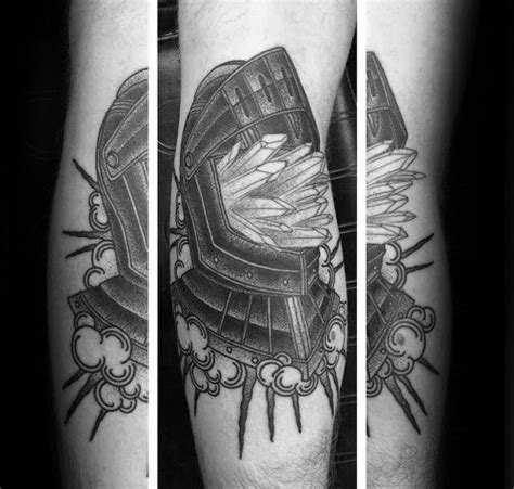quartz tattoo meaning 60 crystal tattoo designs for men polished stone ink ideas