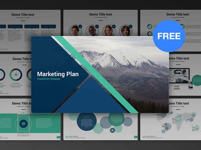 powerpoint marketing templates free powerpoint template marketing plan by site2max