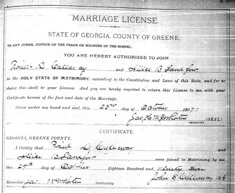 Horry County Marriage Records Search The Usgenweb Archives Project Greene County