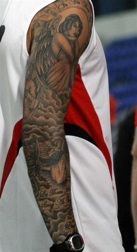 beckham tattoo sleeve ideas david beckham and his tattoos tattoo com tattoos