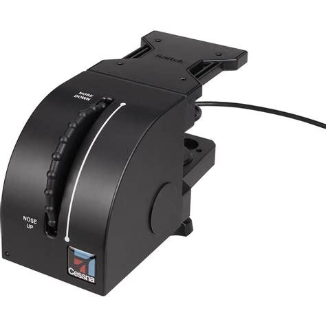 joystick volante joystick volant de trim saitek pro cessna ces432110002 06