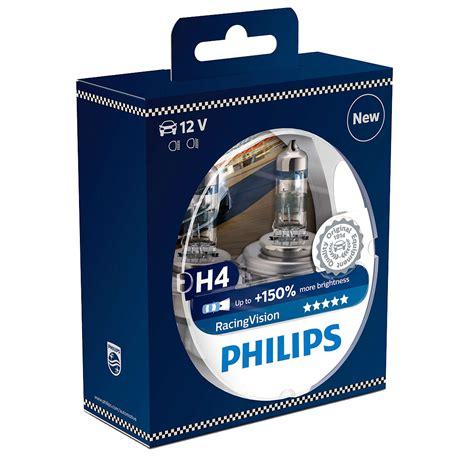 Lu Philips H4 60 55w philips racingvision h4 12v 60 55w set de olie concurrent