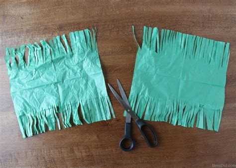 how to make tassels from tissue paper bren did