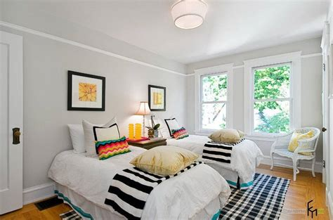 mack white room decorate a small bedroom with two beds interior design inspirations