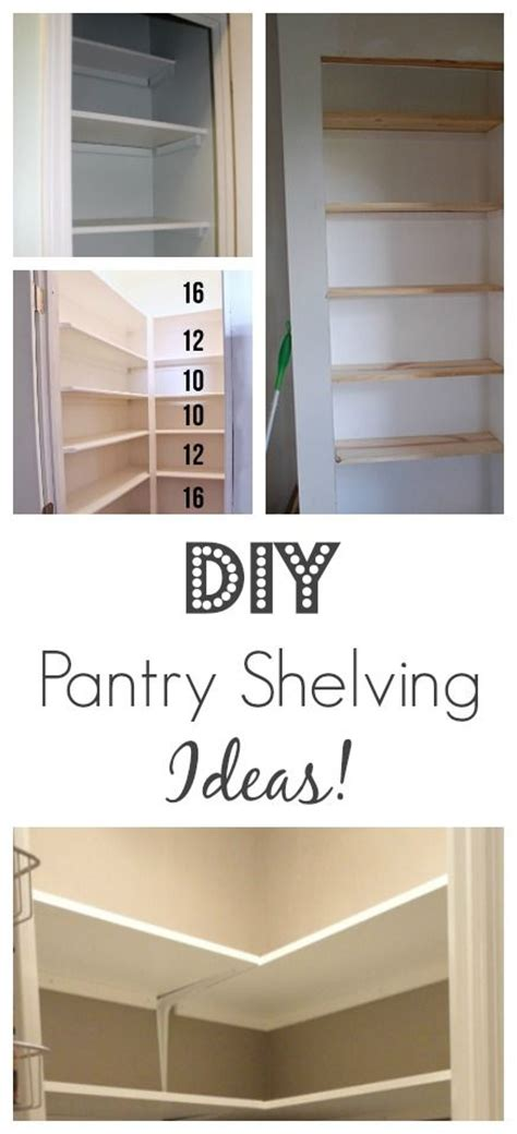 Diy Pantry Shelving by Diy Pantry Shelving Ideas Furniture Ideas Furniture And